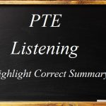 PTE Academic Listening (Highlight Correct Summary) Practice Sample 3