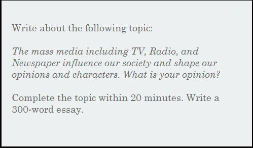 Write my mass media essay topics