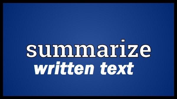 summarize-written-text-8