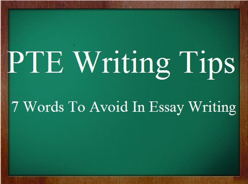 essay writing words to avoid Transitional words and phrases can create powerful links between ideas in your paper and can help your reader understand the logic of your paper however, these words all have different meanings, nuances, and connotations before using a particular transitional word in your paper, be sure you.
