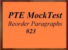 unsolved-pte-mock-test-23-reading-reorder-paragraphs