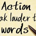"Essay – ""Actions Speak Louder Than Words"". Agree Or Disagree?"