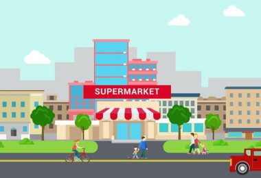 Large Shopping Malls Are Replacing Small Shops