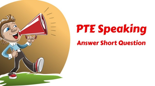Answer SHort Question PTE