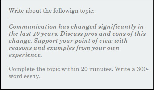 Essay - Communication Has Changed Significantly In The Last 10 ...
