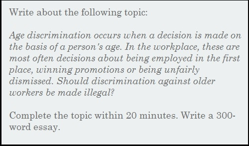Essays About High School Essay  Should Discrimination Against Older Workers Be Made Illegal Essay Topics High School also Research Essay Papers Essay  Should Discrimination Against Older Workers Be Made Illegal High School Reflective Essay