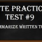 PTE Practice Test 9 – Summarize Written Text – PTE Academic Writing