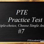 PTE Practice Test 7 – Reading (Multiple-choice, Choose Single Answer)