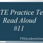 PTE Practice Test 11 – Speaking (Read Aloud) With Sample Audio