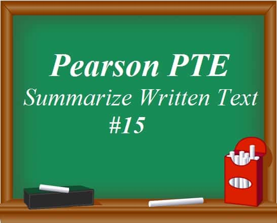 Pearson pte academic writing