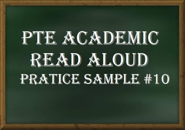 20+Repeated PTE Read Aloud Practice Questions - PTE Speaking