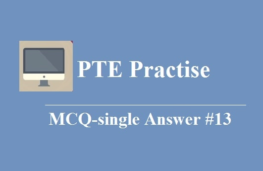 MCQ- Single Archives - PTE Academic Exam