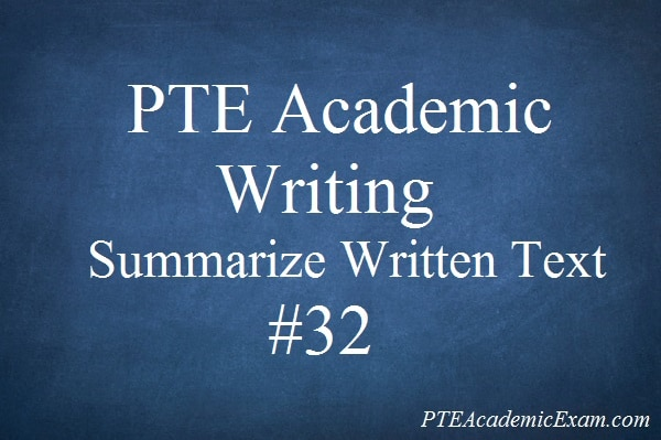 Pte academic essay writing examples