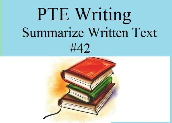 pte writing test 2