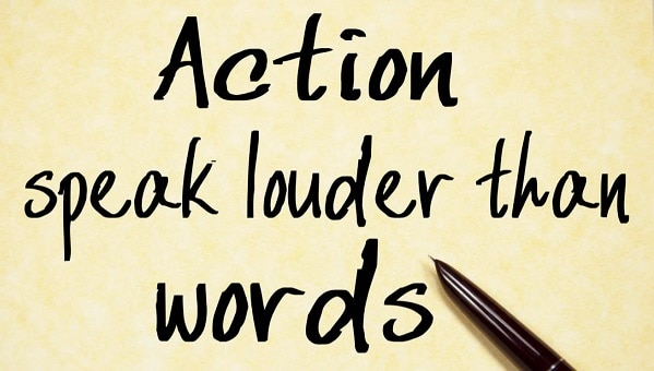 essay actions speak louder than words agree or disagree  actions speak louder than words essay